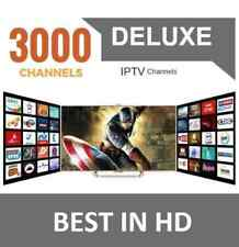 ** IPTV SUBSCRIPTION -Private Server- 1500+ Live,  20,000+ VOD  Private Service