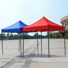 3x3m / 2x2m Garden Gazebo Top Cover Replacement Outdoor Camping Tent Canopy