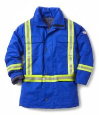 Rasco FR Flame Resistant Royal Blue Parka Jacket with Reflective Striping HOT!