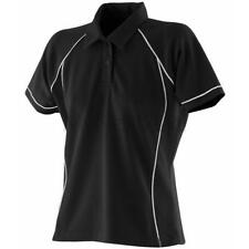 Finden & Hales Womens Piped Performance Polo