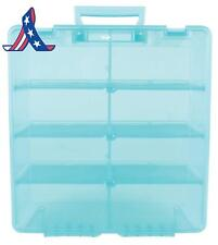 Artbin Super Satchel Double Deep With Removable Dividers, Aqua Mist Art And Craf
