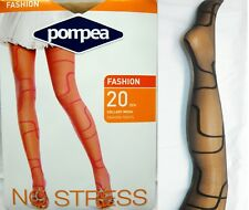 Pompea Fashion 20 Den Sheer Tights CL TOCADILLY  Pantyhose made in Italy  Sexy