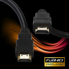 30FT/50FT/60FT High Speed Braided HDMI 1.4 Cable Cord 3D 1080P HDTV Xbox
