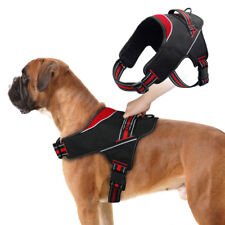 Reflective No Pull Harness Vest with Soft Padded Adjustable Dog Collar Harness