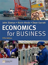 Economics for Business and CWG Pack, Sloman, Mr John & Hinde, Kevin & Garratt, D