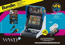 Neo Geo mini International Bundle (EU Version) Gesamtpaket!