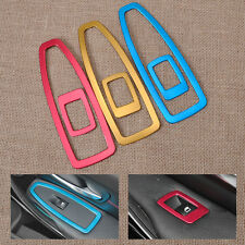 Car Door Window Switch Panel Trim Cover For BMW 3 Series F30 F34 2013 2014 2015
