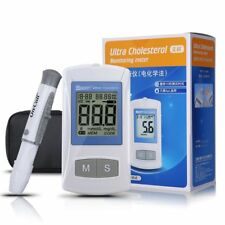Body Fat Cholesterol Meter Test Strips Kit Blood Glucose Monitoring Devices Set