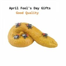 April Fools Day Prank Toy Fake Poop Turd Funny Joke Insects Cockroach Fun Gadget