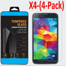 2/4x Tempered Glass Protective Screen Protector Film for Samsung Galaxy S5 S6 FZ