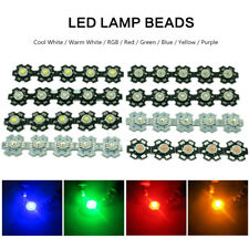 50X LED COB Chips With Star PCB Lot Beads Wholesale LED Bulb Diodes Lamp SMD 3W