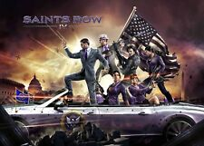 Saints Row IV Print PlayStation, Xbox Poster E259