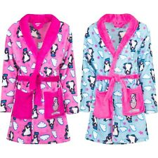 New Girl Bath Robe Dressing Gown Hatchimals Turquoise Pink 98 104 110 116 #600