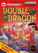 Vintage Double Dragon Game Poster//NES Game Poster//Video Game Poster//Retro Gam