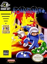 Retro Bomberman 2 Game Poster//NES Game Poster//Video Game Poster//Vintage Game