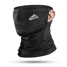 Summer Face Scarf Mask - Dust, Sun Protection Neck Gaiter Thin Breathable