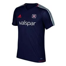 306fe285e2a Chicago Fire MLS Adidas Men s Navy Blue Climacool Training Jersey