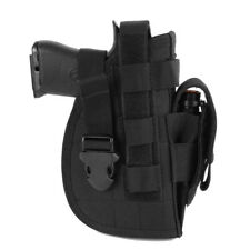 Tactical Pistol/Gun Molle Belt Holster with Magazine Pouch for Right Hand