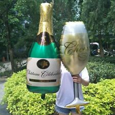 Champagne Cup Beer Bottle Balloon Wedding Bachelorette Birthday Party Decoration