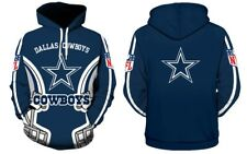 2019 Dallas Cowboys NFL Football Hoodie Sweater Pullover Fan's Edition