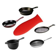 Pot Holder For Skillet Handle Cast Iron Potholder Silicone Rubber Hot Pan Cover