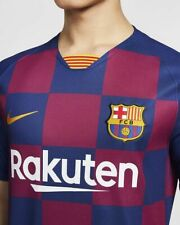 Nike FC Barcelona Official 2019 2020 Home Soccer Football Jersey