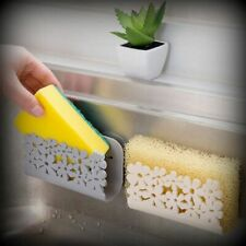 Kitchen Bathroom Drying Rack Toilet Sink Suction Sponges Holder Rack Suction Cup
