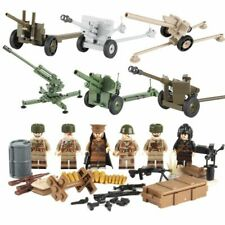 Military Building Figures Lego Soldiers Army Classic Block New Ww2 Modern Weapon