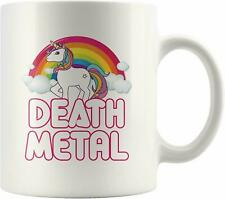 Death Metal Funny Unicorn Mug Coffee Mug 11oz 15oz Mothers Day Gift