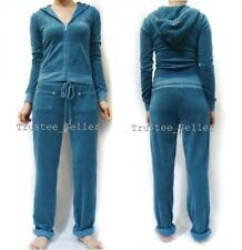 Nwt Juicy Couture Women's Terry Mallard Blue Tracksuit Hoodie or  Pants