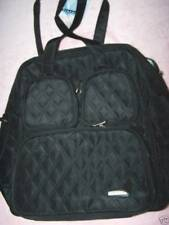 Travelon Weekender Tote bag Gym bag Microfiber NWT