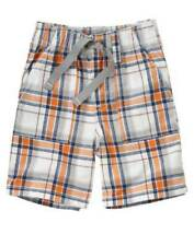 NWT Gymboree Slam Dunk 2 3 4 5 Plaid Blue Orange Shorts