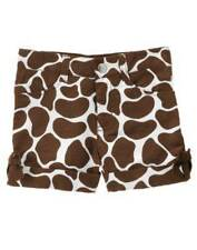 NWT Gymboree Safari Fashion 6 12 Giraffe Bow Shorts NEW