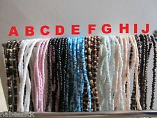 Beach Surfer Puka Shell & Bead Necklaces Style 11