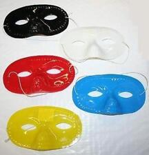 Plastic Domino Eye Mask Different Colors