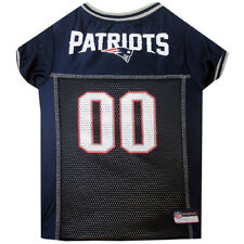 New England Patriots NFL pet dog game jersey (all sizes) Blue