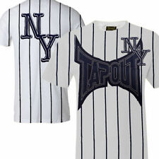 New Mens Tapout UFC MMA N to the Y Cage Fighter T-shirt  New York Yankees style