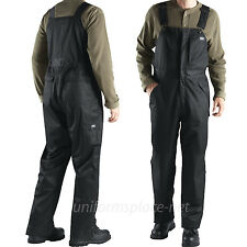 Dickies Vigor Twill WATERPROOF BREATHABLE BIB Overall INSULATED LINED 841 Black
