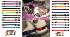 Puppy ID Bands Soft Collars Whelping pack of 6 on chart collar identification