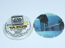 Star Wars Trilogy Tazos - AT-AT Walkers or Millennium Falcon or B-Wing No.49