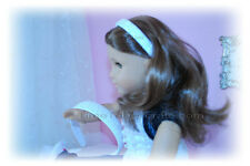 "New girls GROSGRAIN RIBBON HEADBAND yr CHOICE MATCHING 18"" American girl doll"