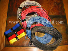 "Synthetic 3/16""x30'(5mmx9M) AmSteel Blue ATV winch rope, winch line"