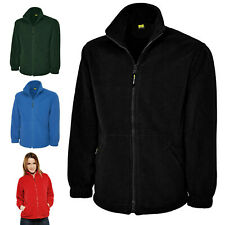 Ladies Full Zip Classic Fleece Jackets Size 8 to 30 - WORK CASUAL SPORTS LEISURE