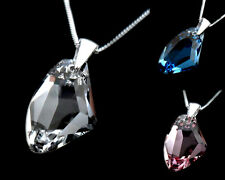 GENUINE SWAROVSKI GALACTIC PENDANT & 925 STERLING SILVER NECKLACE