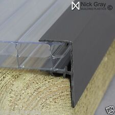 F Section Plastic for Polycarbonate Roofing Sheets