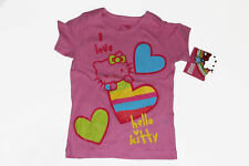 NEW SANRIO HELLO KITTY GRAPHIC TOP TEE SIZE 2T 3T 4T 5T