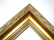 Gold Ornate Wide Wood Picture Frames-High End-Custom Made Panoramic Sizes