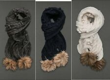 Abercrombie & Fitch Womens Soft Cable Knit Scarf NWT 3 colors available
