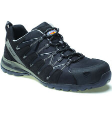 DICKIES TIBER BLACK SAFETY TRAINERS SIZE UK 6 - 12 FC23530 SHOES COMPOSITE MENS