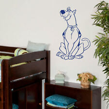 LARGE SCOOBYDO SCOOBY CHILDRENS BEDROOM WALL ART MURAL STICKER TRANSFER DECAL